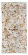 Aratuss Constellations Beach Towel by Science Source