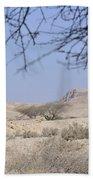 Aravah Desert Landscape  Beach Towel