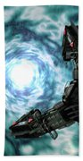 Artists Concept Of The Assimilators Beach Towel by Rhys Taylor