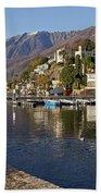 Ascona - Lake Maggiore Beach Towel by Joana Kruse