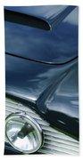 Aston Martin 1963 Aston Martin Db4 Series V Vintage Gt Grille Emblem -0140c Beach Towel