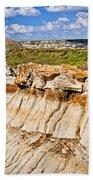 Badlands In Alberta Beach Towel