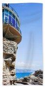 Balcon De Europa In Nerja Beach Towel