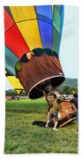 Balloonist - Ready For Takeoff Beach Towel