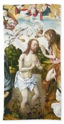 Baptism Of Christ Beach Towel