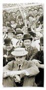 Baseball: Playoff, 1908 Beach Towel