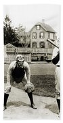 Baseball: Princeton, 1901 Beach Towel