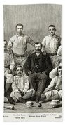 Baseball: Providence, 1882 Beach Towel