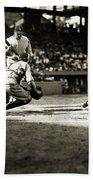 Baseball: Washington, 1925 Beach Towel