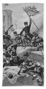 Battle Of Chapultepec, 1847 Beach Towel
