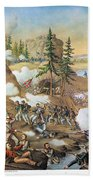 Battle Of Chattanooga 1863 Beach Towel