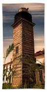 Beavertail Lighthouse Beach Towel