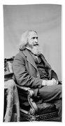 Benjamin Peirce, American Mathematician Beach Towel