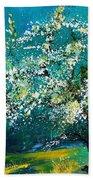 Blooming Appletree Beach Towel