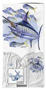 Blue Marlin Beach Sheet