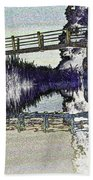Bridge Across The River Beach Towel