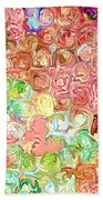 Bright Reflections Beach Towel