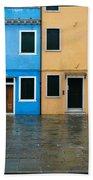 Burano Italy 1 Beach Towel