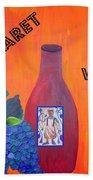 Cabaret Wine Beach Sheet