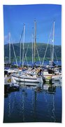 Carlingford Yacht Marina, Co Louth Beach Towel