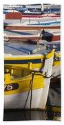 Cassis Boats Beach Towel