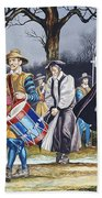 Charles I's Last Walk Beach Towel