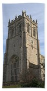 Christchurch Priory Bell Tower Beach Towel