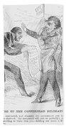 Civil War: Copperhead, 1863 Beach Towel