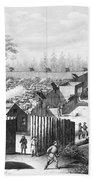 Civil War: Prison, 1864 Beach Towel
