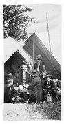 Civil War: Signal Corps Beach Towel