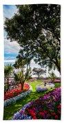 Clacton Pleasure Garden Beach Towel