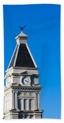 Clarksville Historic Courthouse Tower Beach Towel