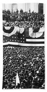 Clevelands Inauguration Beach Towel