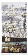 Clipper Ship, 1851 Beach Towel