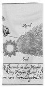 Comet, 1664 Beach Towel