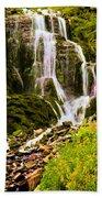 Crater Lake Falls Beach Towel