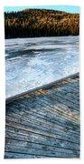Cypress Hills Alberta Beach Towel