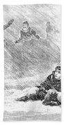 Dakota Blizzard, 1888 Beach Towel