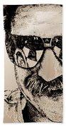 Dale Earnhardt Sr In 1995 Beach Towel