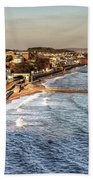 Dawlish Sea Wall Beach Towel