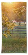 Day Is Done Beach Towel