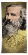 Dmitri Mendeleev, Russian Chemist Beach Towel