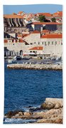 Dubrovnik Old City Architecture Beach Towel
