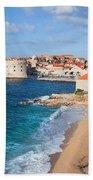 Dubrovnik Scenery Beach Sheet