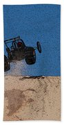 Dune Buggy Jump Beach Towel
