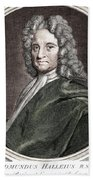 Edmond Halley, English Polymath Beach Towel