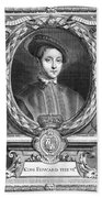Edward Vi (1537-1553) Beach Towel