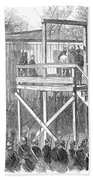 Execution Of Henry Wirz Beach Towel