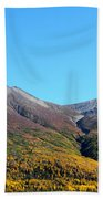 Fall Mountains Beach Towel