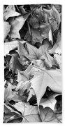 Fallen Leaves Beach Towel